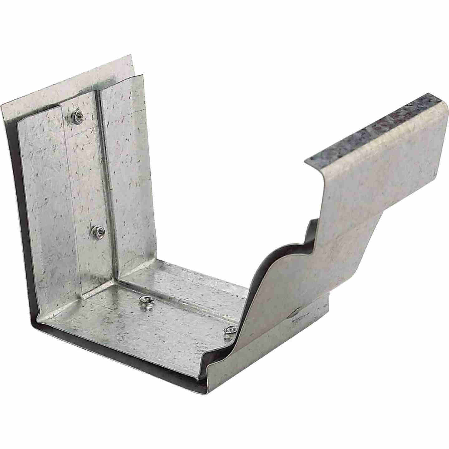 NorWesco 4 In. Galvanized Slip-Joint Gutter Connector Image 1