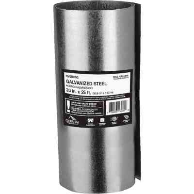 NorWesco 20 In. x 25 Ft. Mill Galvanized Roll Valley Flashing