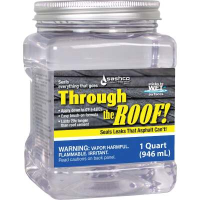 Through the Roof! 1 Qt. Cement & Patching Sealant