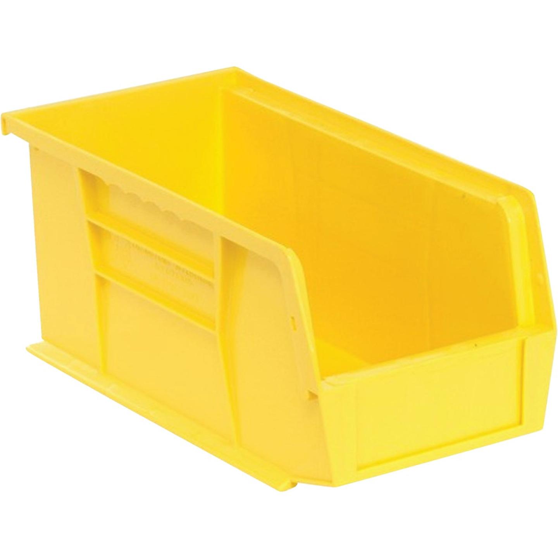 Quantum Storage Medium Yellow Stackable Parts Bin Image 1
