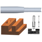 Vermont American Carbide Tip 1/4 In. Straight Bit Image 1