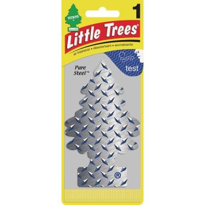 Little Trees Car Air Freshener, Pure Steel