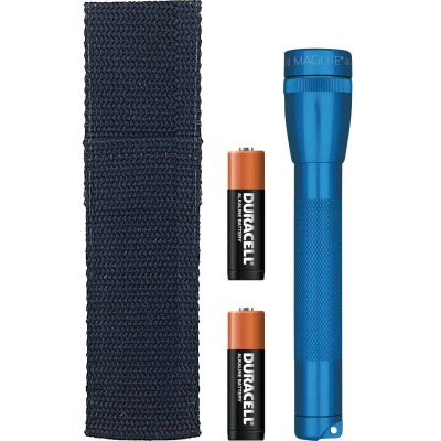 Maglite 14 Lm. Xenon 2AA Flashlight, Blue